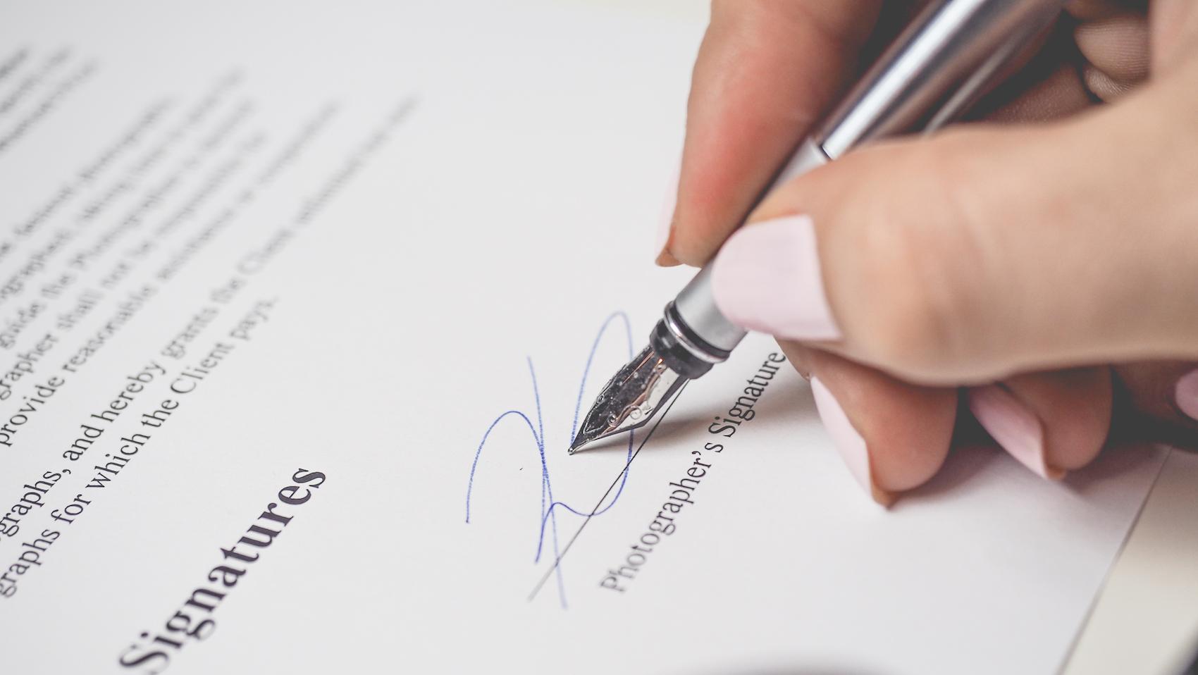 Signer un acte authentique électronique